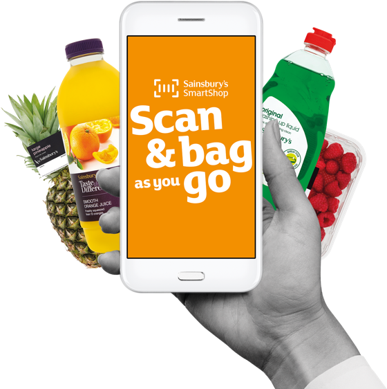 Scan & bag as you go